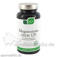 NICApur® Magnesiumcitrat 120, 60 St, NICApur Supplements GmbH & Co KG