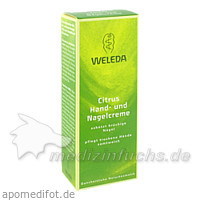 Weleda Citrus Hand und Nagelcreme, 50 ml,