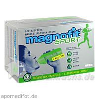 magnofit® sport + Kalium, 40 St, MEDA Pharma GmbH & Co.KG
