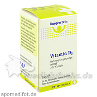 Burgerstein Vitamin D3 Kapseln, 100 Stk.,