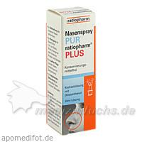 Nasenspray PUR ratiopharm® PLUS, 20 ml, ratiopharm Arzneimittel Vertriebs-GmbH