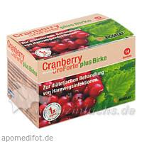 BIOGELAT® Cranberry UroForte plus Birke Granulat, 14 St, Kwizda Pharma GmbH