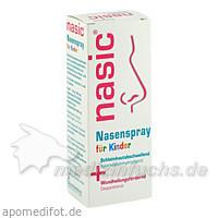 Nasic Nasenspray für Kinder 5 mg/ 500 mg, 10 ml, KLOSTERFRAU M.C.M.