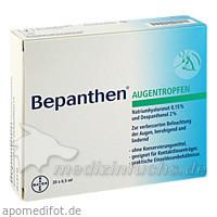Bepanthen Einmal-Augentropfen Ampullen 0,5 ml, 20 Stk., BAYER AUSTRIA GMBH