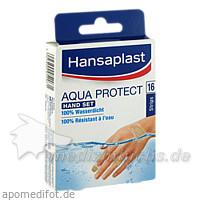 Hansaplast Aqua Protect Hand Set Strips, 16 Stk., BEIERSDORF G M B H