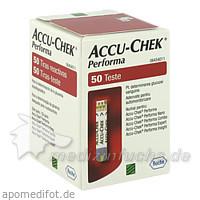 ACCU-CHEK® Performa Teststreifen, 50 St, ROCHE DIABETES CARE AUSTRIA GMBH