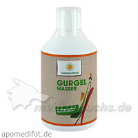 SonnenMoor® Gurgelwasser, 500 ml, SONNENMOOR Verwertungs- u. Vertriebs GmbH