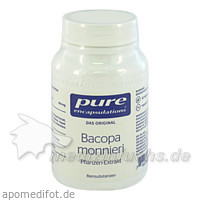 Pure encapsulations Kapseln Bacopa Monnieri, 60 Stk.,