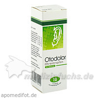 Otodolor® Ohrentropfen, 10 ml, Dr. Peithner GmbH & Co KG