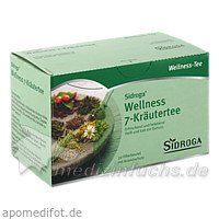 Sidroga Wellness 7-Kräutertee, 20 Beutel, Siemens & Co Pharma Ges.m.b.H.