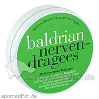 Baldrian Sanova comp. Nerven-Dragees, 50 St, Sanova Pharma GesmbH