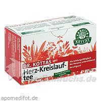 DR. KOTTAS Herz-Kreislauftee, 20 St, Kottas Pharma GmbH