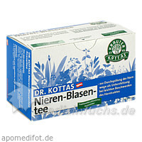 DR. KOTTAS Nieren-Blasentee, 20 St, Kottas Pharma GmbH