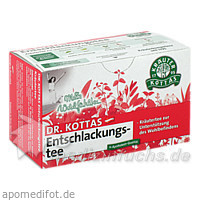 Dr. Kottas Entschlackungstee, 20 St, Kottas Pharma GmbH