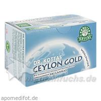 Dr. Kottas Ceylon Gold Tee, 20 Beutel, MR.PH.KOTTAS-HELDENBERG&SOHN