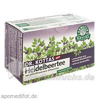 Dr. Kottas Heidelbeertee, 20 St, Kottas Pharma GmbH