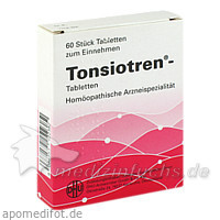 DHU Tonsiotren®, 60 St, Dr. Peithner GmbH & Co KG