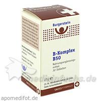 Burgerstein B-Kompley B50, 30 St, Burgerstein Oesterreich GmbH