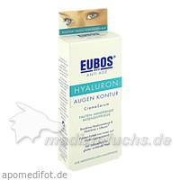 Eubos Hyaluron Augencreme Serum, 15 ml,
