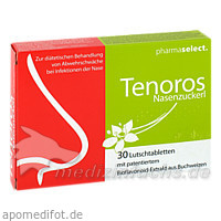 Tenoros Nasenzuckerl Lutschtabletten, 30 St, Pharmaselect Handels GmbH