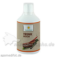 SonnenMoor® Trinkmoor, 500 ml, SONNENMOOR Verwertungs- u. Vertriebs GmbH