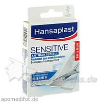 Hansaplast Sensitive MED 1 m x 6 cm Pflaster, 1 Stk., BEIERSDORF G M B H