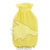 WAERMFLASCHE Halblamelle mit Bezug gelb, 2 l