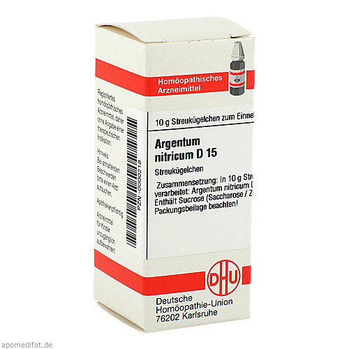 ARGENTUM NITRicum D15, 10 G, Dhu-Arzneimittel GmbH & Co. KG