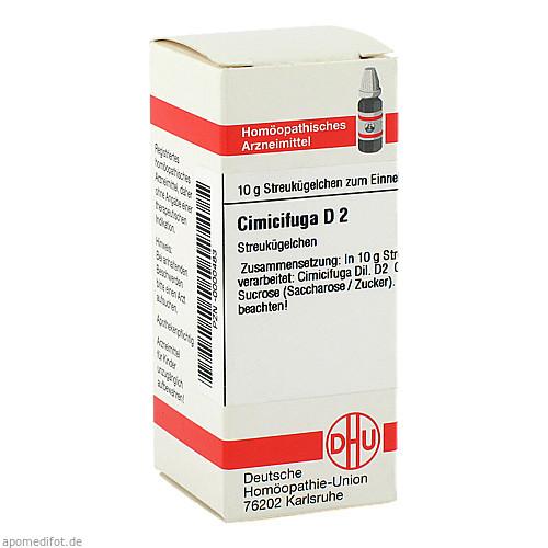 CIMICIFUGA D 2, 10 G, Dhu-Arzneimittel GmbH & Co. KG