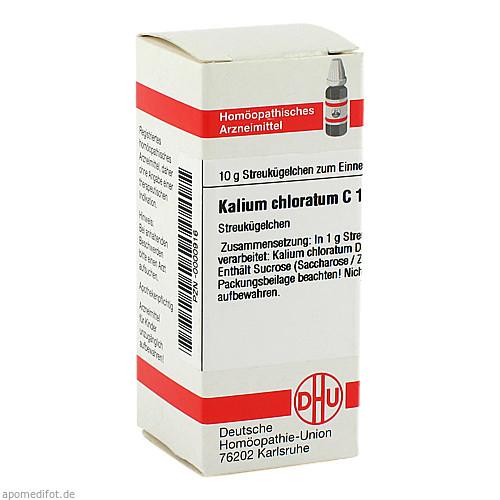KALIUM CHLORATUM C12, 10 G, Dhu-Arzneimittel GmbH & Co. KG