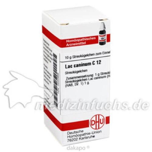 LAC CANINUM C12, 10 G, Dhu-Arzneimittel GmbH & Co. KG