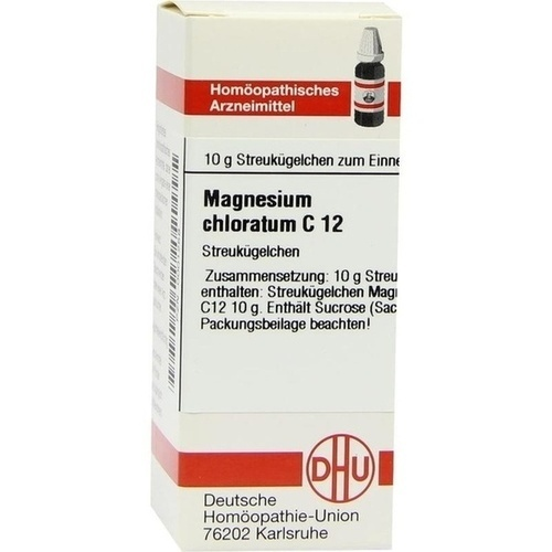 MAGNESIUM CHLORATUM C12, 10 G, Dhu-Arzneimittel GmbH & Co. KG
