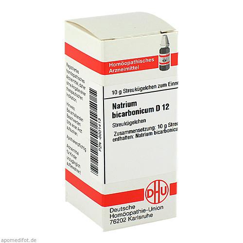 NATRIUM BICARBONICUM D12, 10 G, Dhu-Arzneimittel GmbH & Co. KG