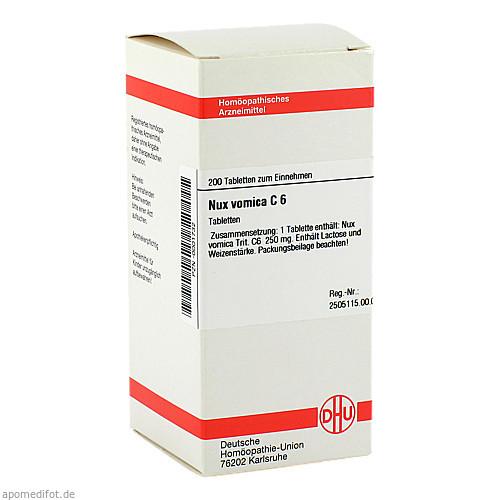 NUX VOMICA C 6, 200 ST, Dhu-Arzneimittel GmbH & Co. KG