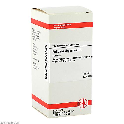 SOLIDAGO VIRGAUREA D 1, 200 ST, Dhu-Arzneimittel GmbH & Co. KG