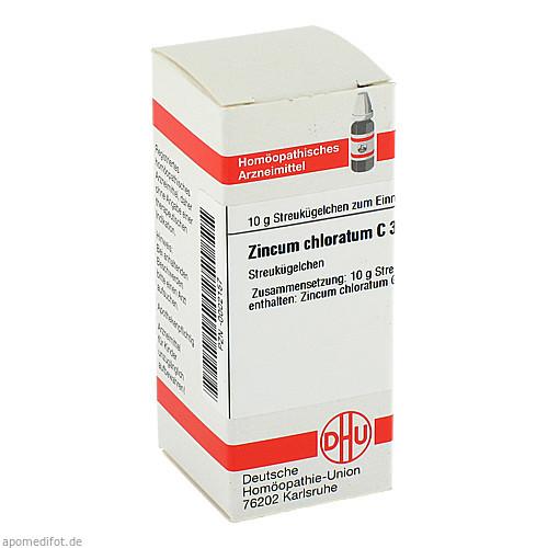 ZINCUM CHLORATUM C30, 10 G, Dhu-Arzneimittel GmbH & Co. KG