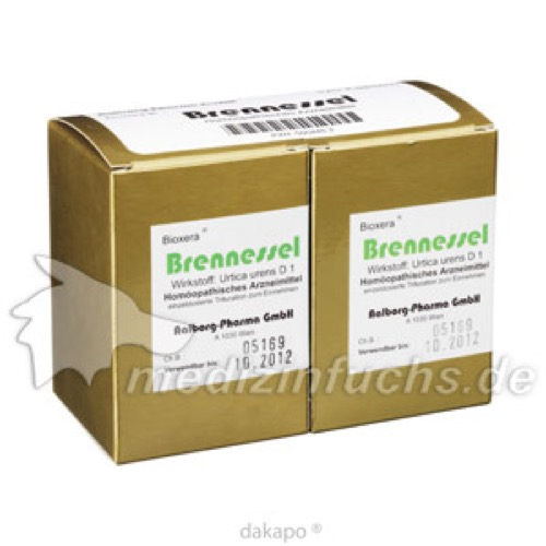 Brennessel Bioxera, 120 ST, Diamant Natuur GmbH