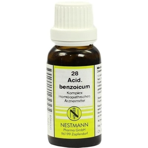 ACIDUM BENZOIC NESTM 28, 20 ML, Nestmann Pharma GmbH