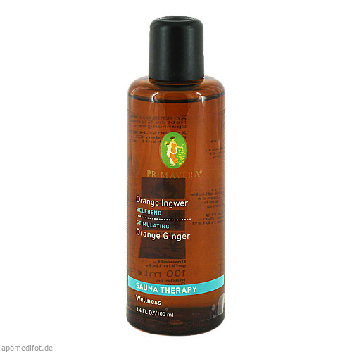 Sauna Orange Ingwer, 100 ML, Primavera Life GmbH