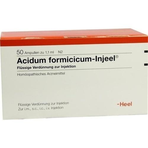 ACIDUM FORMIC INJ, 50 ST, Biologische Heilmittel Heel GmbH