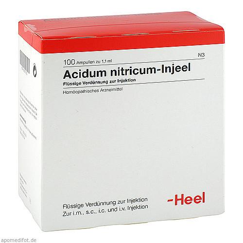 ACIDUM NITR INJ, 100 ST, Biologische Heilmittel Heel GmbH