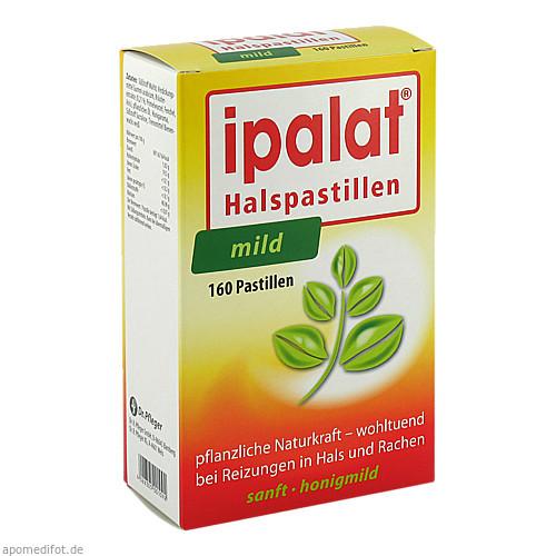 Ipalat Halspastillen mild, 160 ST, Dr.R.Pfleger GmbH