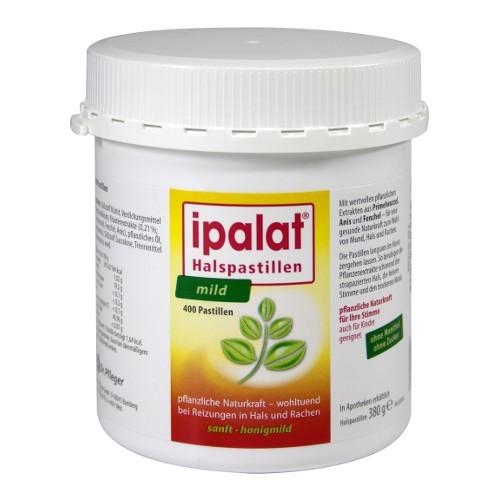 Ipalat Halspastillen mild, 400 ST, Dr.R.Pfleger GmbH