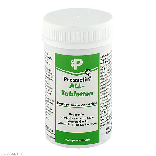 Presselin ALL Tabletten, 100 ST, Combustin Pharmaz. Präparate GmbH
