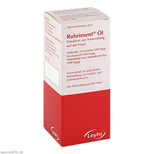 Rubriment Öl, 100 ML, Leyh-Pharma GmbH