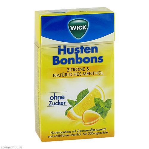 WICK Zitrone & Natürliches Menthol ohne Zucker, 46 G, Dallmann's Pharma Candy GmbH