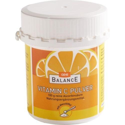 GEHE BALANCE Ascorbinsäure, 100 G, Gehe Pharma Handel GmbH
