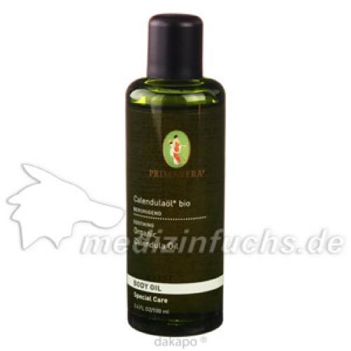 Calendulaöl in Oliven-/Sonnenblumenöl bio, 100 ML, Primavera Life GmbH