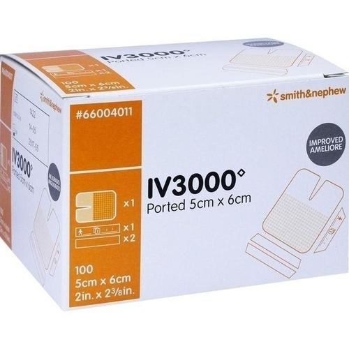 OPSITE I V 3000 1-Hand 5x6cm, 100 ST, Smith & Nephew GmbH