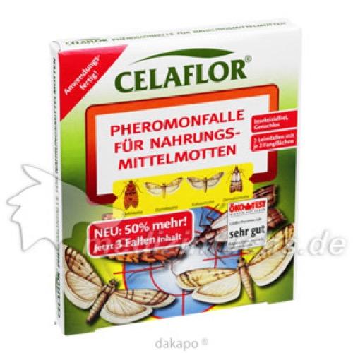 CELAFLOR PHEROMONFALLE FÜR NAHRUNGSMITTELMOTTEN, 3 ST, Evergreen Garden Care Deutschland GmbH
